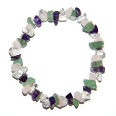 Mixed stones (4 stone) Chip Bracelet