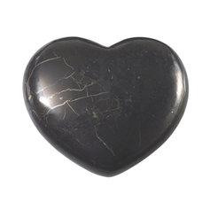 Shungite Heart, 2,5 cm