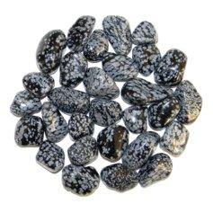 Snowflake Obsidian, tumbled (1 piece)