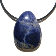 Sodalite, Drilled