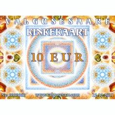 Valgusesaare kinkekaart 10 EUR