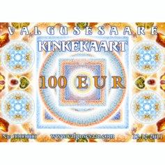 Valgusesaare kinkekaart 100 EUR