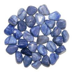 Blue Quartz, tumbled (1 piece)