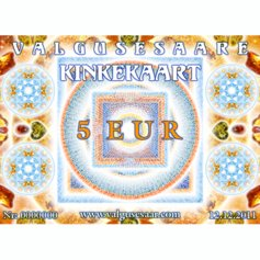 Valgusesaare kinkekaart 5 EUR