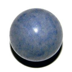 Sinisest kvartsist kera, 3 cm