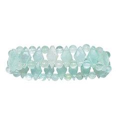 Fluoriidist rombikujuliste kividega käevõru