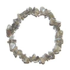 Labradorite Chip Bracelet 2