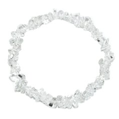 Rock Crystal Chip Bracelet