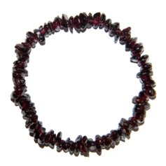 Garnet Chip Bracelet