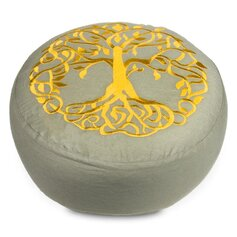 Meditatsioonipadi elupuu sümboliga
