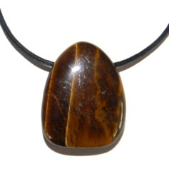 Tiger Eye, Drilled