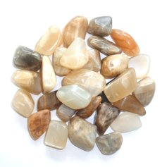 Moonstone, tumbled (1 piece)
