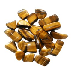 Tigers Eye, tumbled (1 piece)