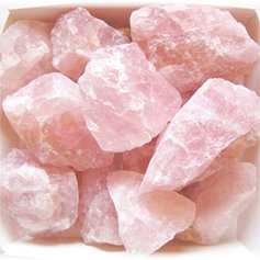 Roosa kvartsi tükid (200 g)