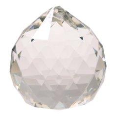 Kristallist kerakujuline feng shui päikesepüüdja, läbipaistev (2 cm)