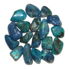 Chrysocolla, tumbled (1 piece)