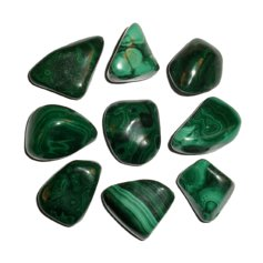 Malachite, tumbled (1 piece)