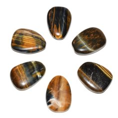Tiger Eye/Hawk Eye, Flat (1 piece)