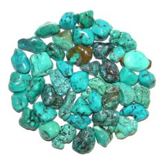 Turquoise 2, tumbled (1 piece)