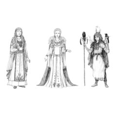 Kolmikjumalanna - Linda, Salme, Ann