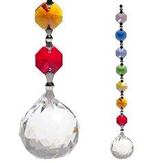Kristallkera ja tšakrakristallidega feng shui päikesepüüdja