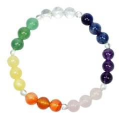 Bead bracelet - 7 colours - 8 mm