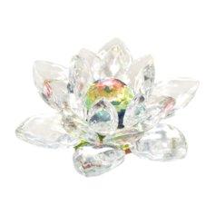Kristall-lootos värvilise südamikuga