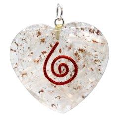 Seleniidiga südamekujuline orgon-ripats