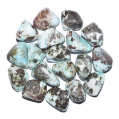 Larimar B, tumbled (1 piece)