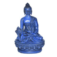 Meditsiini Buddha, sinine
