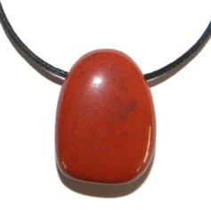 Red Jasper, Drilled