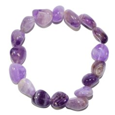 Amethyst Bracelet with Larger Stones