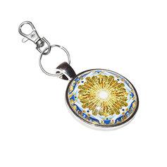 Kuldajastu kuvandi mandalaga võtmehoidja
