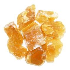 Kaltsiit, kuldne ehk meekaltsiit, lihvimata (1 tk)