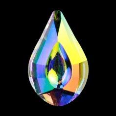 Kristallist piisakujuline feng shui päikesepüüdja, vikerkaarevärviline 2