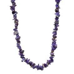 Charoite Chip Necklace