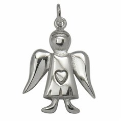 Guardian Angel pendant, STG Silver