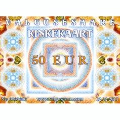 Valgusesaare kinkekaart 50 EUR