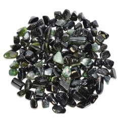 Green Tourmaline, tumbled (1 piece)